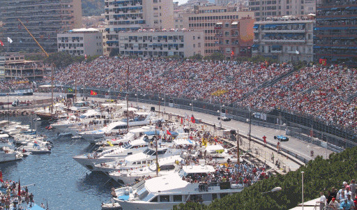 Monaco F1 Grand Prix silver package