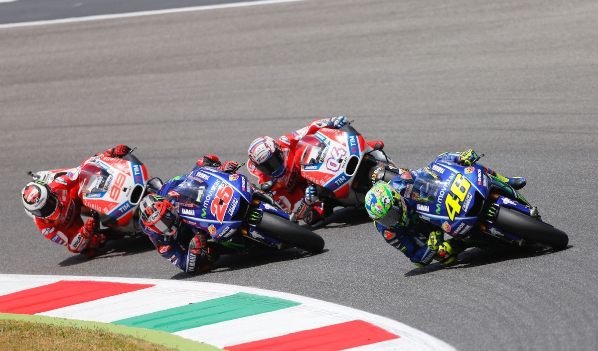 Mugello Moto GP silver package
