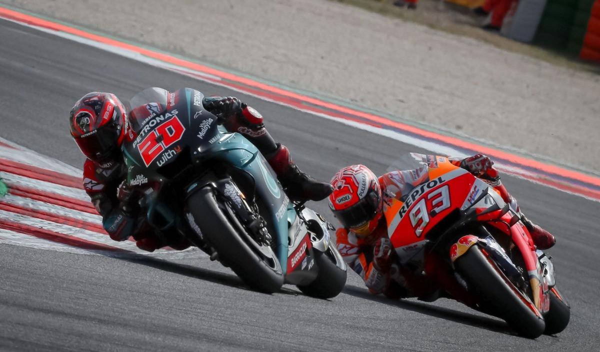 Moto GP van San Marino silver package