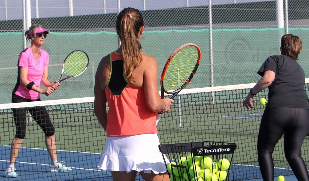 Tennis week with Maria Rasmussen
