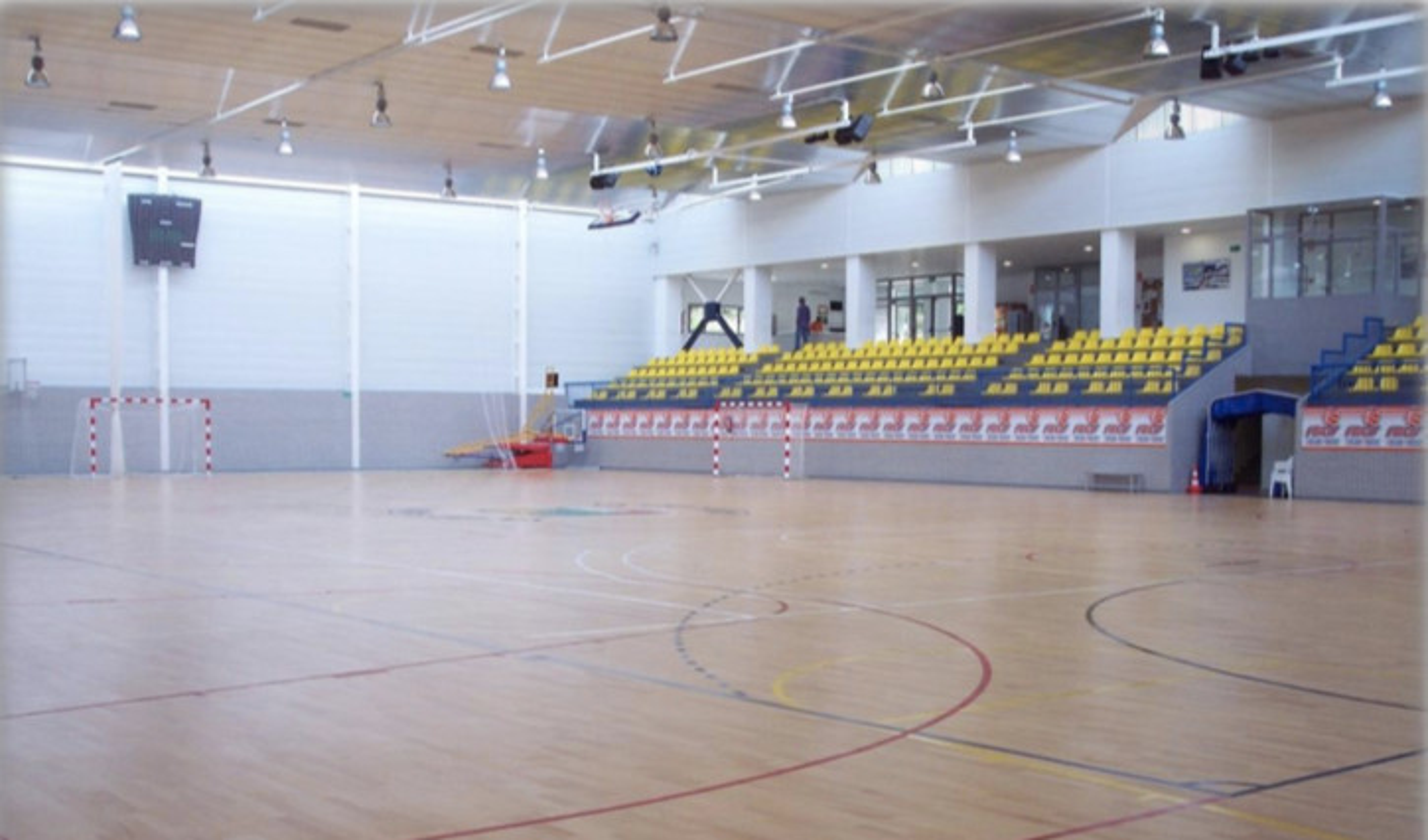 4 daagse basket-handbal training te Albir .