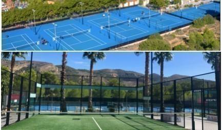 Tennis- Padel stage te Albir-Spanje